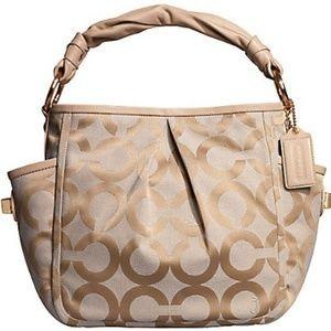 Coach Parker Op Art Shoulder Bag